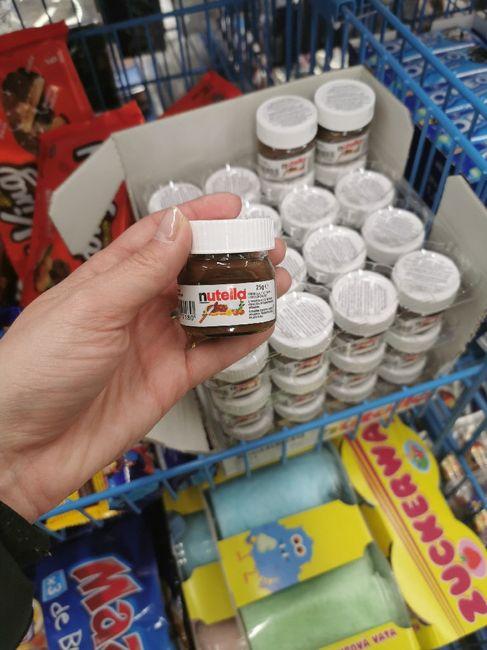 Mini tarros de Nutella - 1