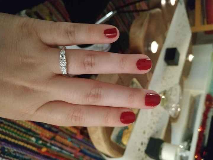 Chicas! Me enseñáis vuestros anillos? - 1