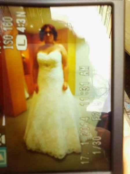Quedarme con el primer vestido - 1
