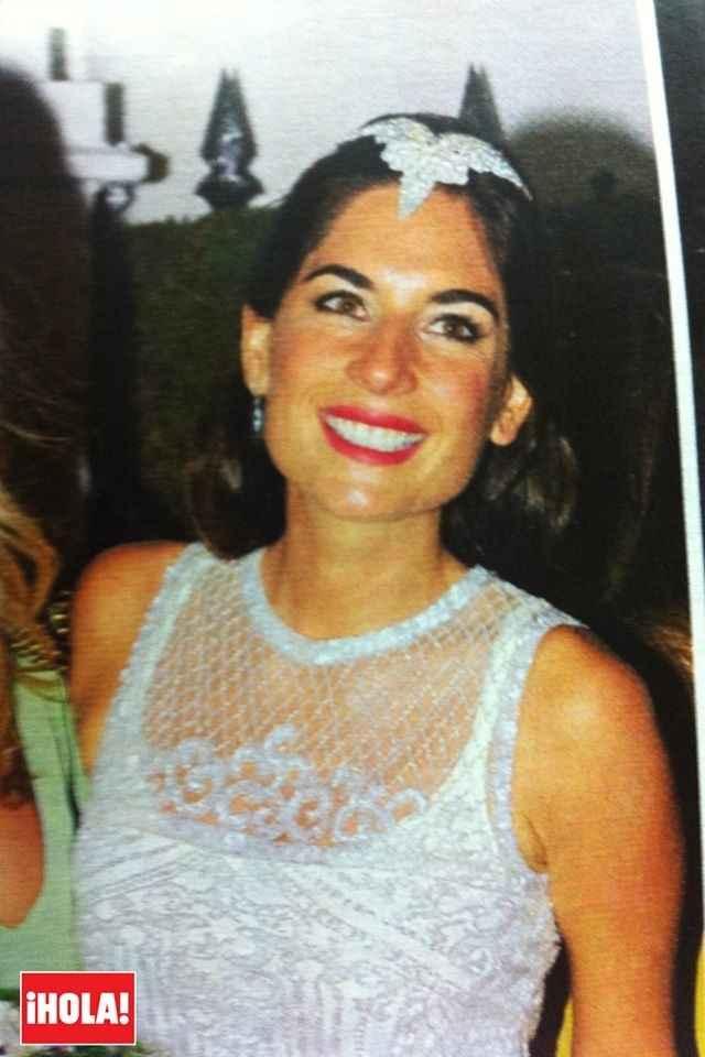 El segundo modelito de novia de Lourdes montes
