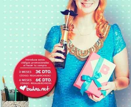 Oferta Birchbox para novias Bodas.net