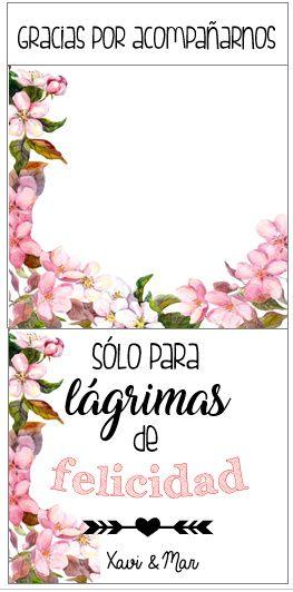 Plantillas Lágrimas de felicidad ( aquí ) 2