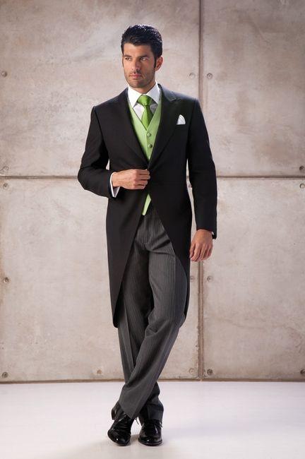 Bodas en color blanco y verde 7