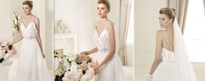 Mi vestido de novia!