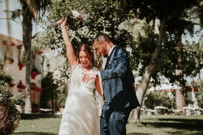 Sí se puede!!! Casados por fin! 8