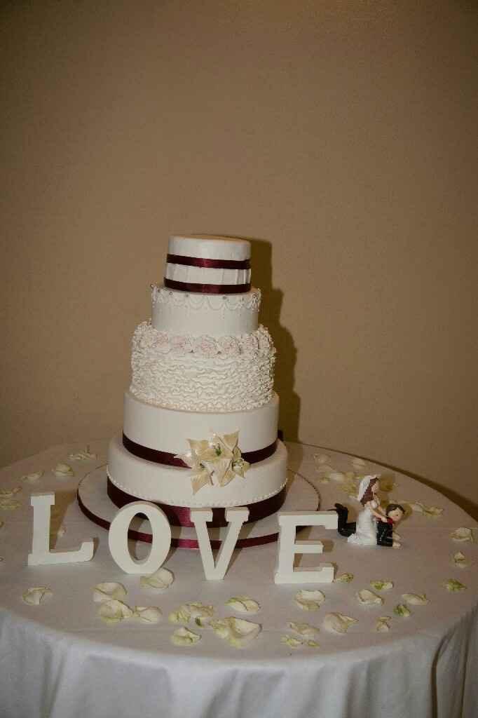 Premios Bodas.net - La mejor tarta de boda - 1