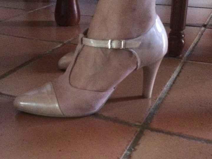 Zapatos rosa nude - 1