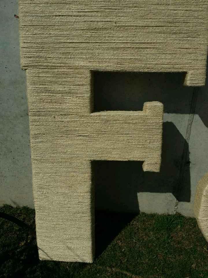 Mis letras gigantes f&j - 2