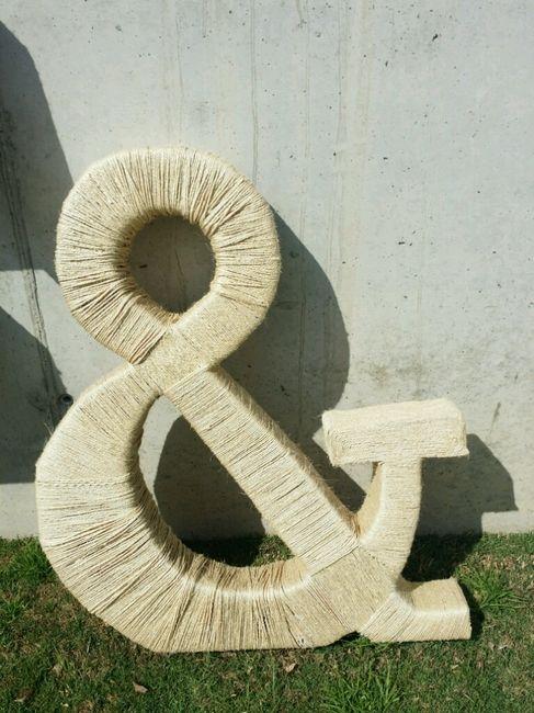Mis letras gigantes f&j - 3