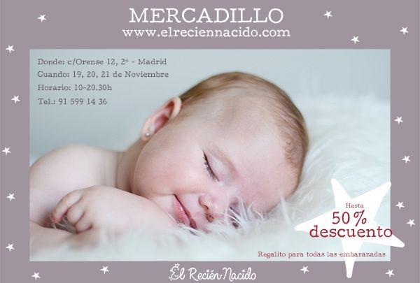 Mercadillo Bebé en Madrid