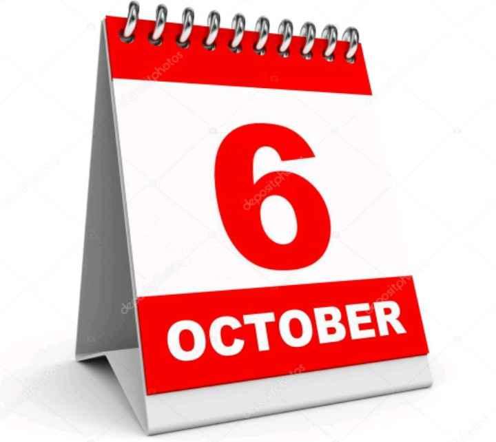 6 de octubre - 1