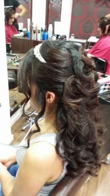 Encantada con  mi prueba de peinado - 2