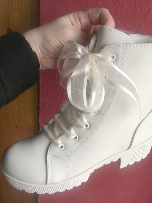 ¡Encontré mis botas de novia! 1