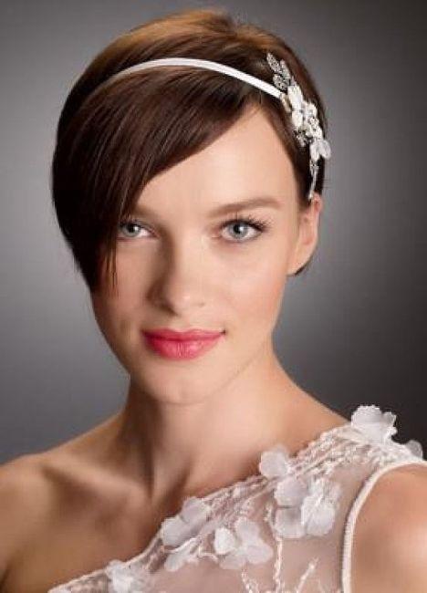 Ideas De Peinados Para Novias De Pelo Corto Belleza Foro Bodasnet - Peinados-para-novias-pelo-corto