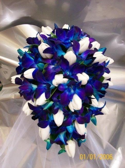 ramos de novia por colores