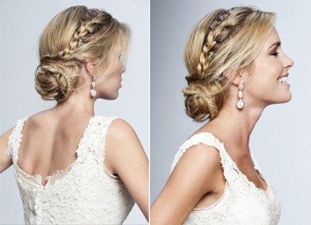peinados para escote barco - moda nupcial - foro bodas