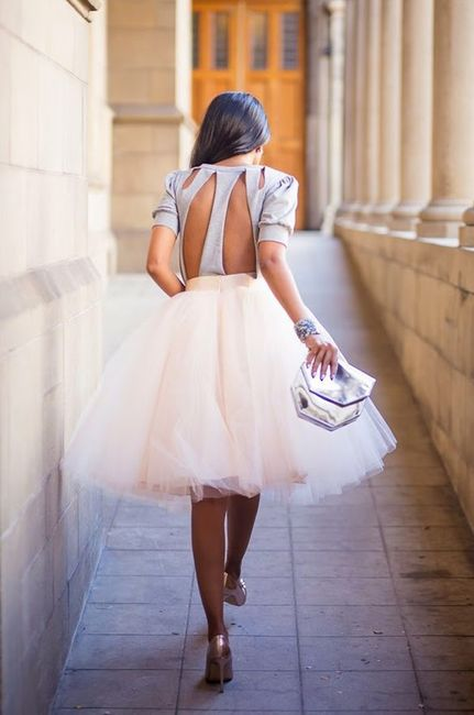 nuevo estilo de vida salida de fábrica venta de liquidación Faldas de tul para invitada - Moda nupcial - Foro Bodas.net