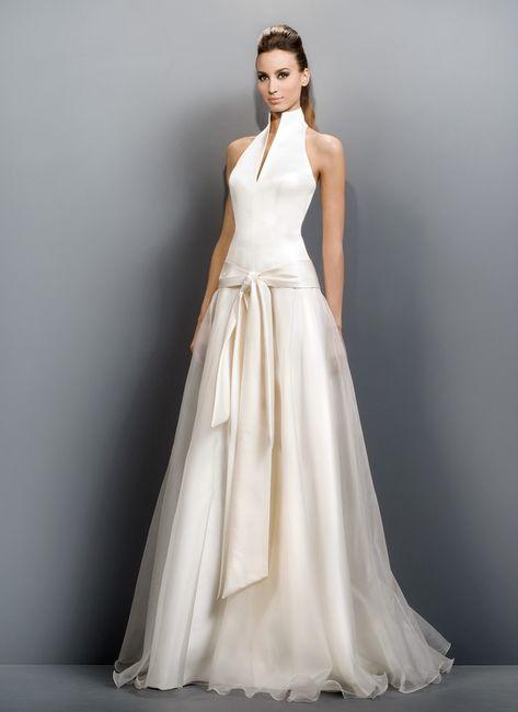 prueba de vestido en jesus peiró - moda nupcial - foro bodas