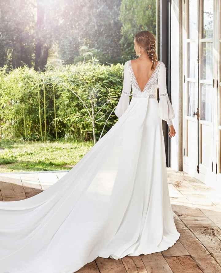 Inspo: Vestidos de novia con manga 👗 - 2