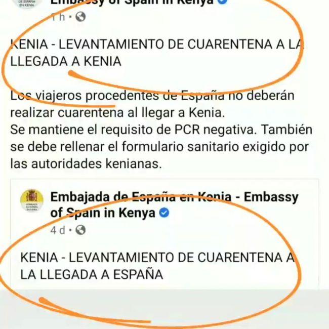 Buenas noticias Kenya y Tanzania! 1