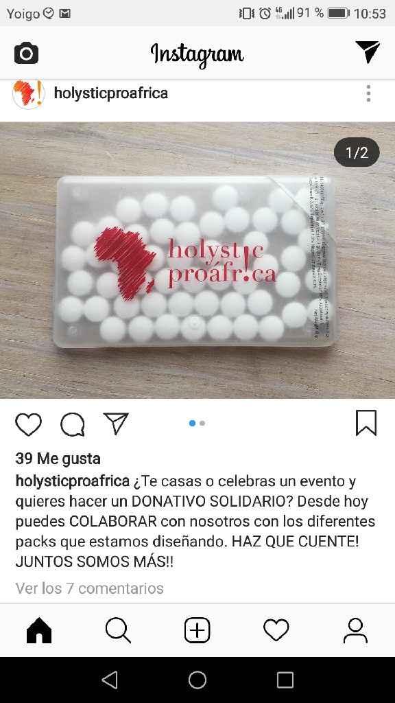 Regalos solidarios - 1