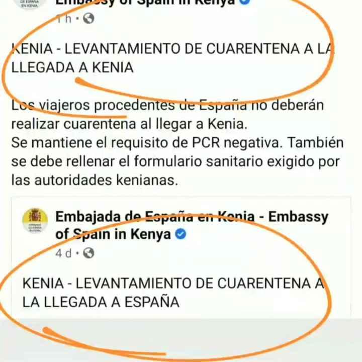 Buenas noticias Kenya y Tanzania! - 1