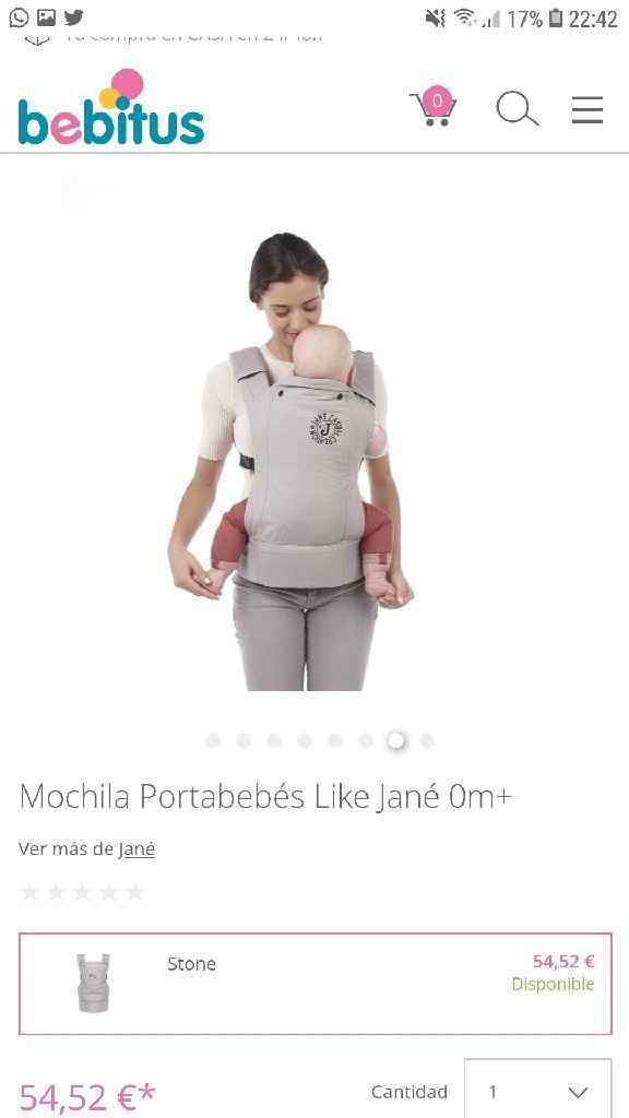 Portabebé Like Jané - 1