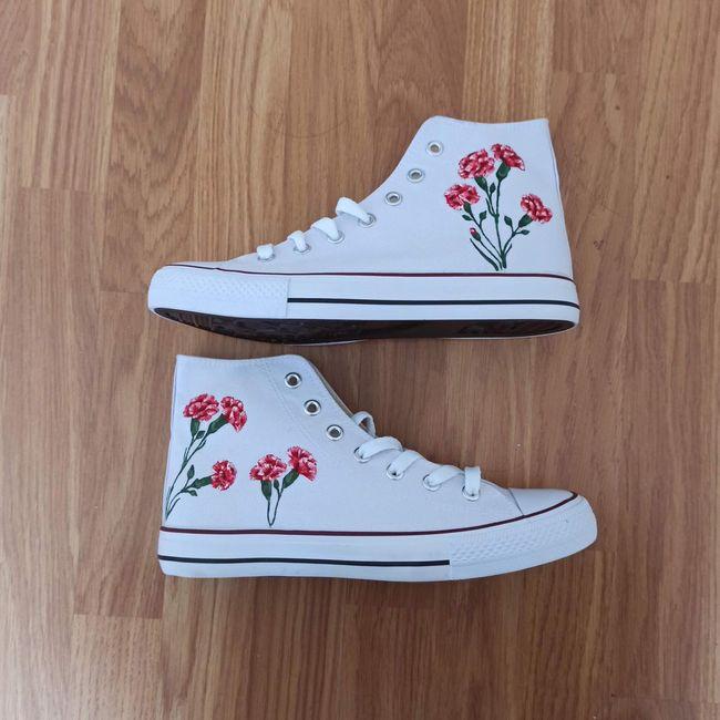 ¿Personalizarías de esta manera tus zapatillas? 😎 - 1