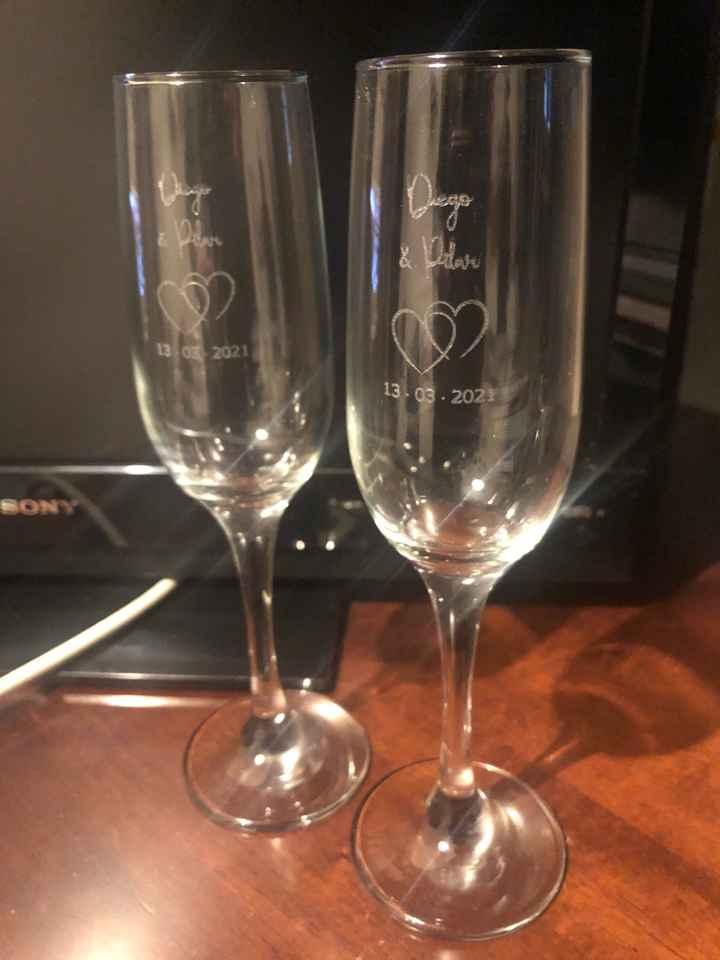 Copas para la boda - 1