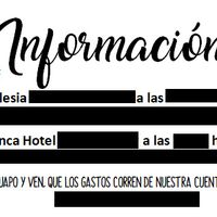 Tarjeta info