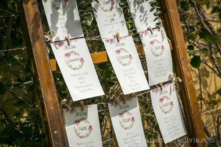 ¡Comparte el seating plan de tu boda! 🍽 - 1