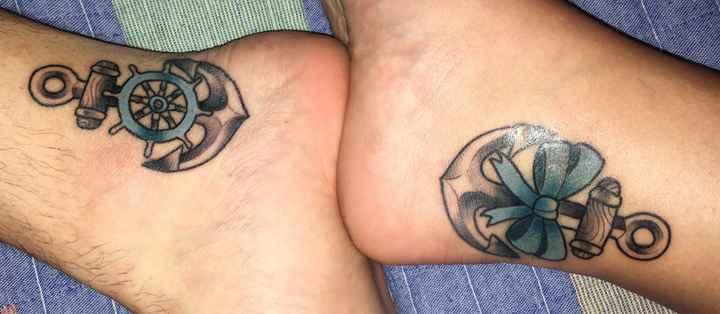 Tatuajes a juego, ¿gran idea o mejor no? - 1