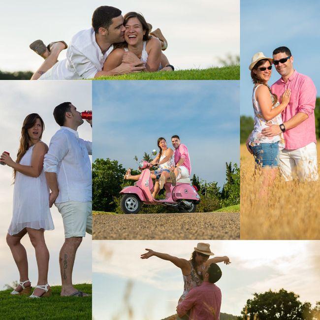 Fotos pre-boda y post-boda. a favor? o en contra? - 1