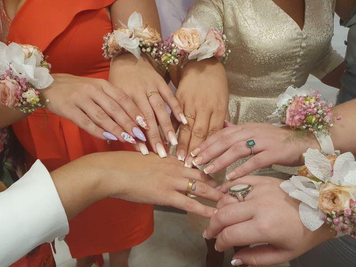Pulseras con la tela del vestido de novia 5