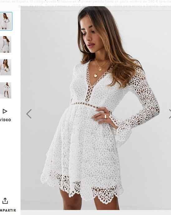 Este es el vestido que os comentaba