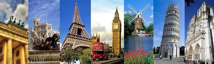 Luna de miel por continentes: Europa 1