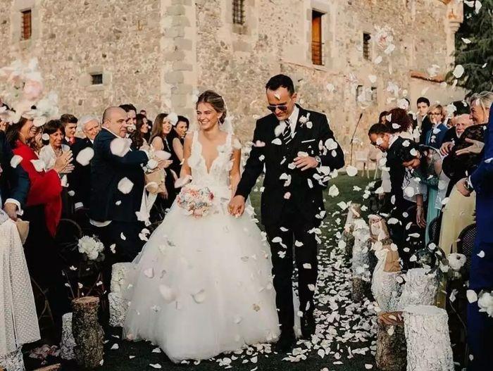 Los vestidos de novia de las influencers (I) 1