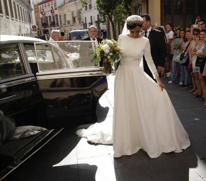 Los vestidos de novia de las influencers (I) 3