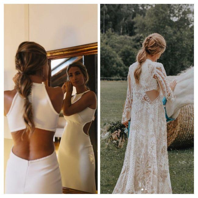 Los vestidos de novia de las influencers (I) 4