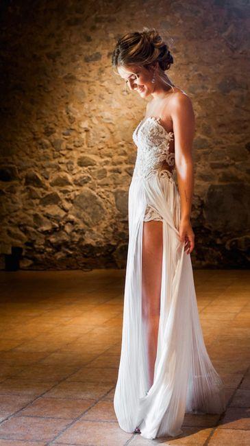 Los vestidos de novia de las influencers (II) 1
