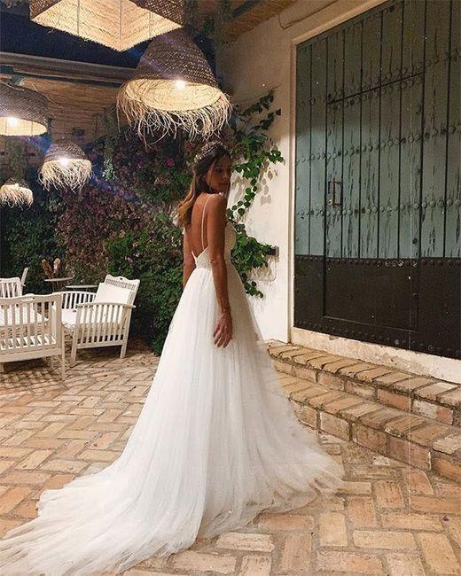 Los vestidos de novia de las influencers (II) 3