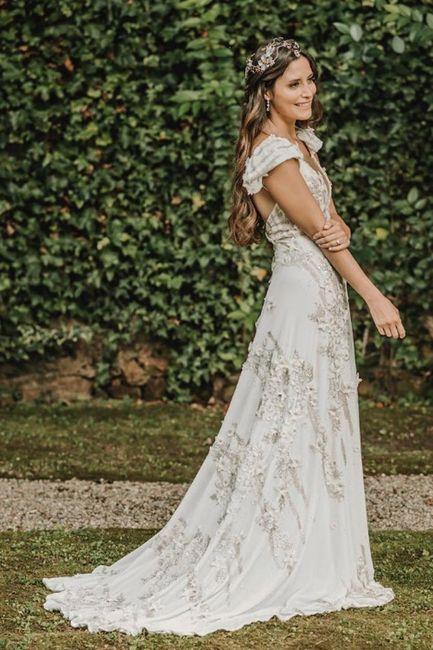 Los vestidos de novia de las influencers (II) 8