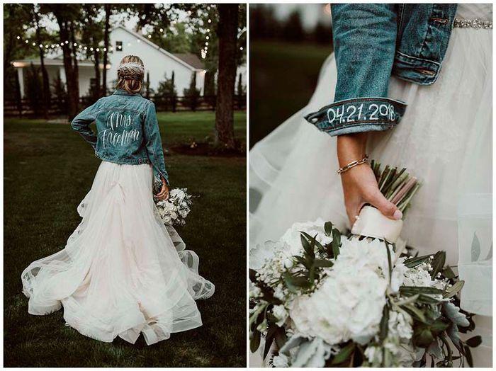 Chaquetas de novia 1