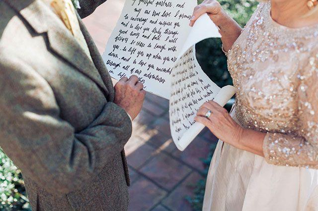 Cómo escribir los votos matrimoniales... 📝 3