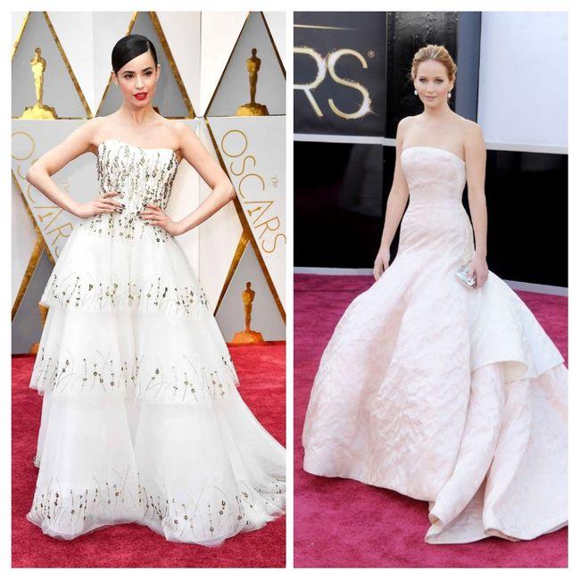 Vestidos blancos de alfombra roja: Hollywood edition 2