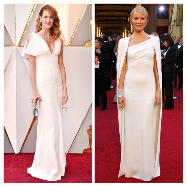 Vestidos blancos de alfombra roja: Hollywood edition 3