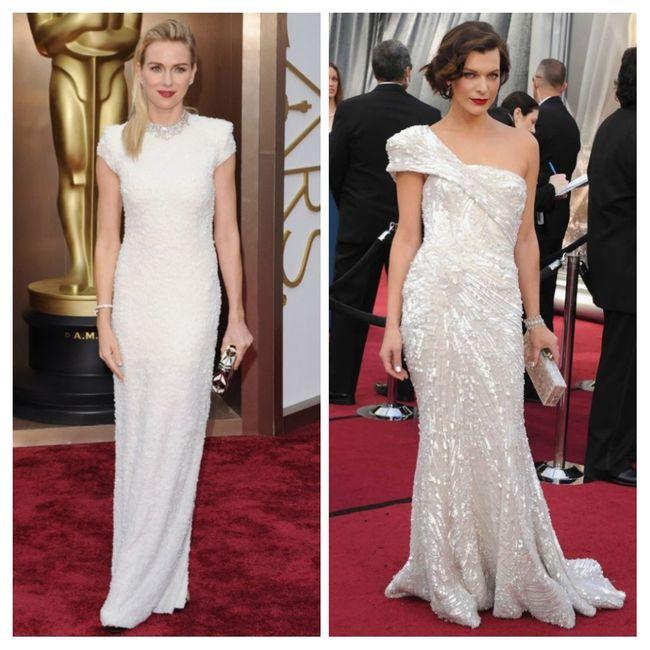 Vestidos blancos de alfombra roja: Hollywood edition 5