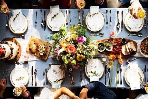 ¿Cuánto cuesta un menú de boda? 1