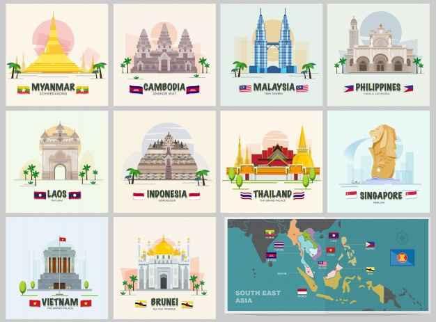Luna de miel por continentes: Asia 1