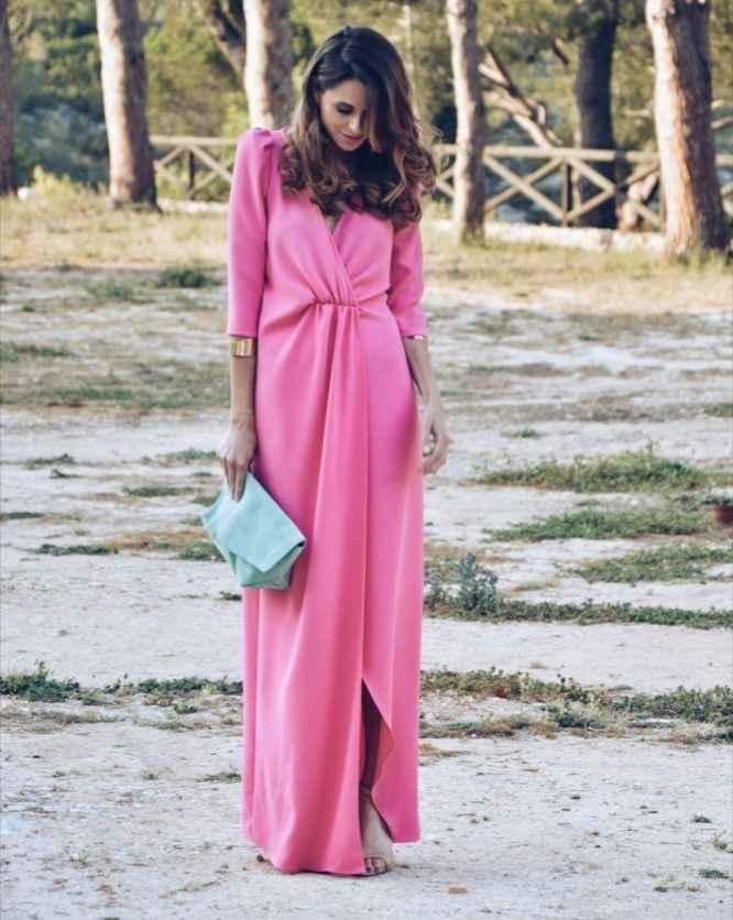 Vestidos de invitada en rosa, ¿cuál eliges? 7